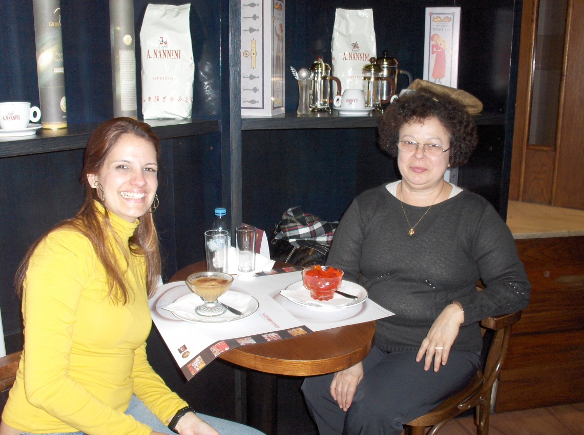 Priscila e Graça em Lisboa