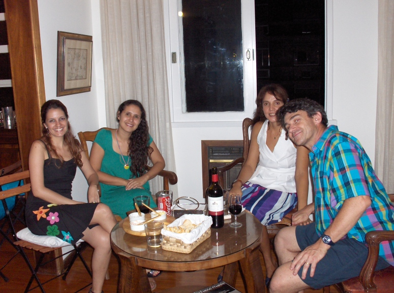 Priscila, Carol, Carla e Henry