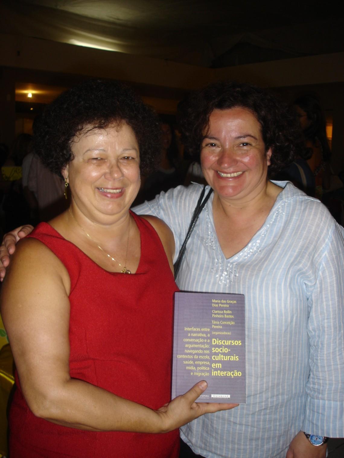 Profa. Graça e Profa. Margarita Correia (ILTEC, Lisboa)