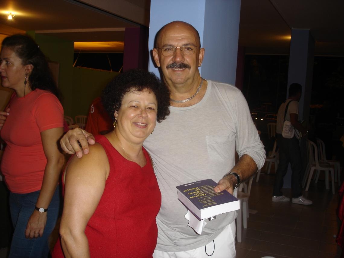Profa. Graça e Prof. Demerval da Hora (UFPB)