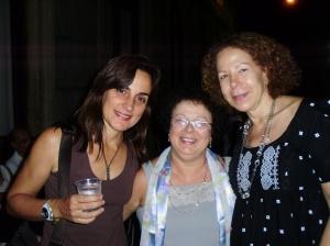 Branca F. Fabrício (autora, UFRJ), Graça e Maria Luíza Braga (UFRJ)