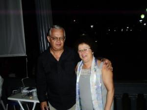 Graça e seu esposo Carlos