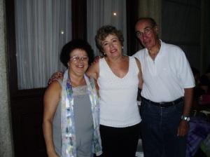 Graça, Angela Matheus (autora) e esposo