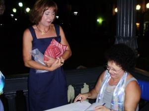 Beatriz Barreto (PUC-Rio) e Graça