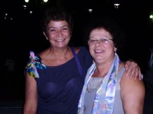 Liliana C. Bastos (autora, PUC-Rio) e Graça