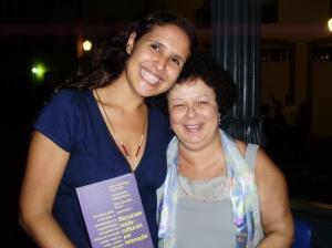 Carolina Magalhães (PUC-Rio) e GRaça