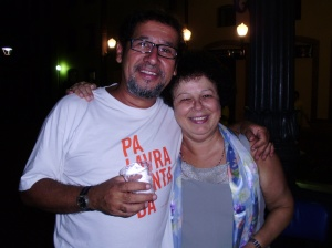 Prof. Júlio Cesar V. Diniz (PUC-Rio) e Graça